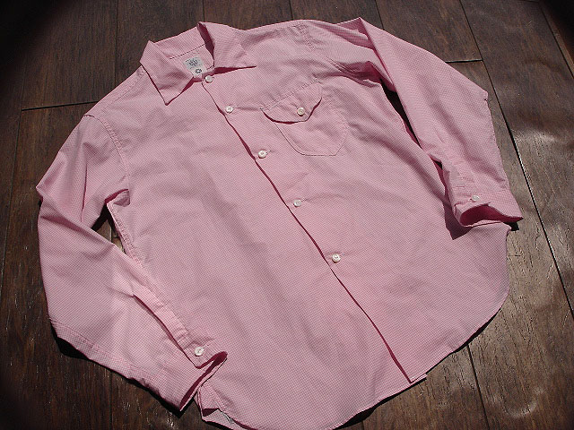 NEW : POST O\'ALLS [NEW Shirt-R ] Gingham SHIRTING !!_a0132147_22104968.jpg