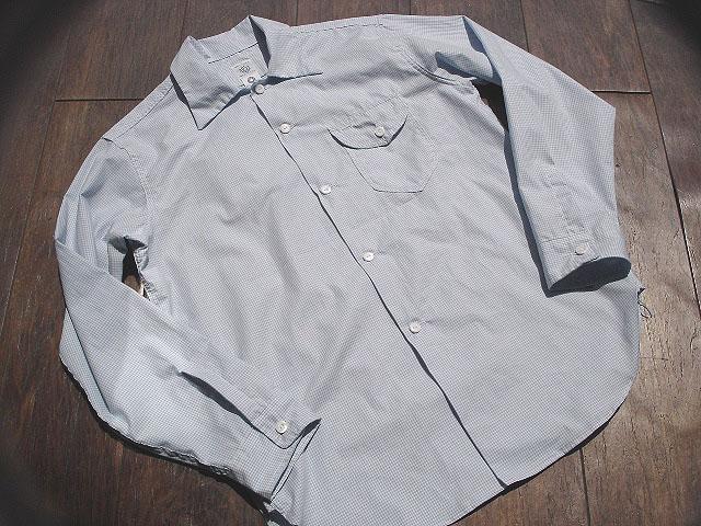 NEW : POST O\'ALLS [NEW Shirt-R ] Gingham SHIRTING !!_a0132147_2273473.jpg
