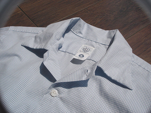 NEW : POST O\'ALLS [NEW Shirt-R ] Gingham SHIRTING !!_a0132147_227795.jpg