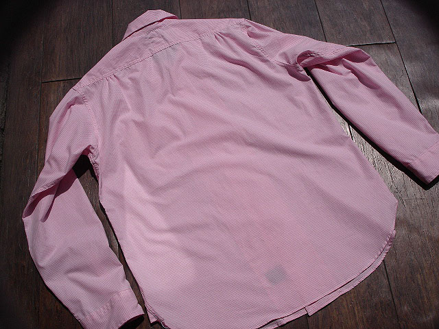 NEW : POST O\'ALLS [NEW Shirt-R ] Gingham SHIRTING !!_a0132147_228733.jpg