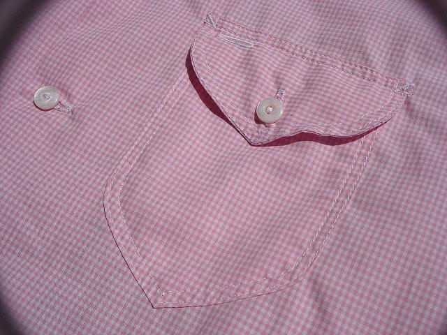 NEW : POST O\'ALLS [NEW Shirt-R ] Gingham SHIRTING !!_a0132147_2292139.jpg