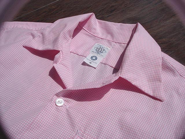 NEW : POST O\'ALLS [NEW Shirt-R ] Gingham SHIRTING !!_a0132147_2294839.jpg