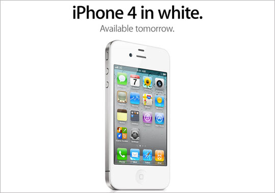 Apple iPhone 4 White Edition Release Announced_a0118453_04263.jpg