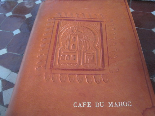 カフェドゥモロッコ <閉店>_f0236260_383234.jpg