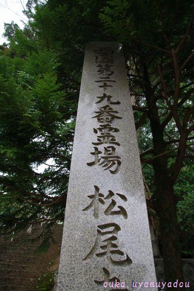 西国第二十九番札所 青葉山松尾寺_a0157263_2346316.jpg
