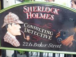 UK~ロンドンで有名人を見学 蝋人形とホームズ_e0195766_1231177.jpg