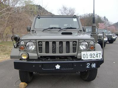 自衛隊の車両!!_b0219993_1150392.jpg