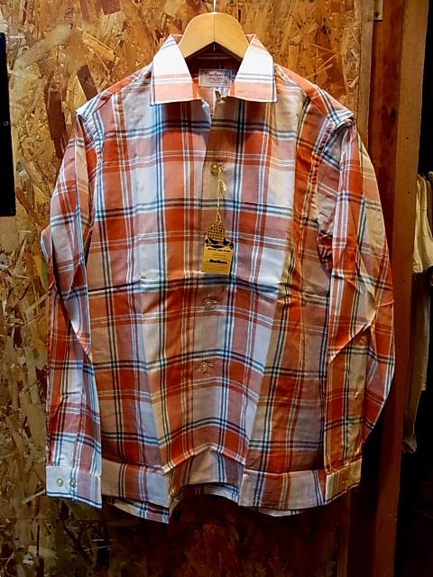 4/30(土)入荷!60'S デッドストックシャツ!_c0144020_1926283.jpg