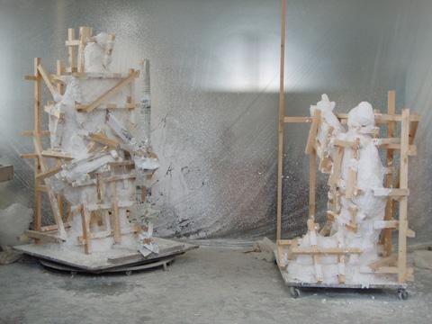 銅像制作の工程_b0145843_0112367.jpg