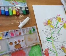 春の花のスケッチ3_c0052304_10165471.jpg