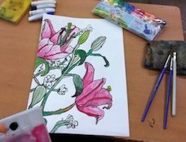 春の花のスケッチ3_c0052304_10301594.jpg