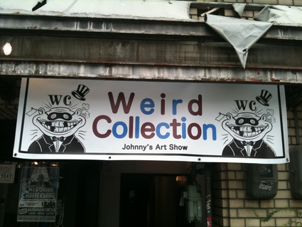 "Johnny 1ST SOLO SHOW ""WEIRD COLLECTION\""_c0083911_210324.jpg"