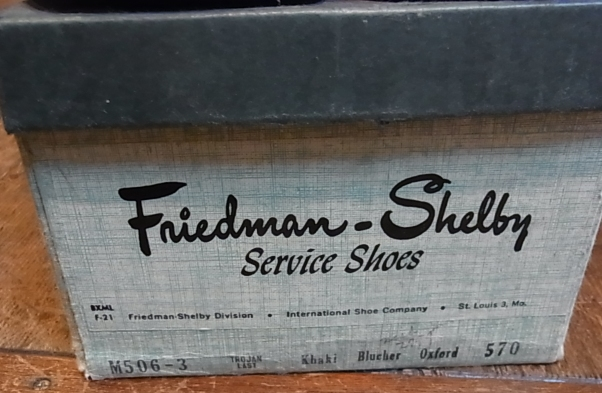 50-60\'S Fried man shelby Work shoes!_c0144020_16211467.jpg