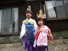 朽飯八幡神社で三十三年に一度の大祭が行われています。_e0061225_1717471.jpg