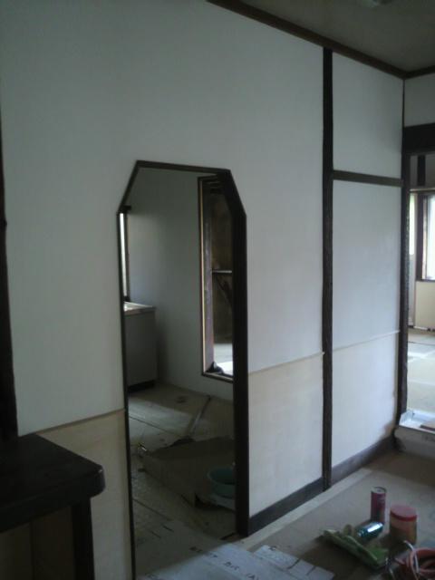 天理の家 改修工事 風呂設置_c0124828_17461958.jpg