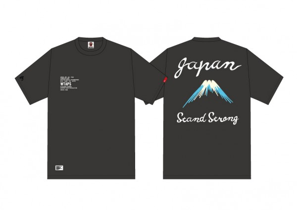 Wtaps Stand Strong JAPAN earthquake Charity Tee  _a0118453_12515264.jpg