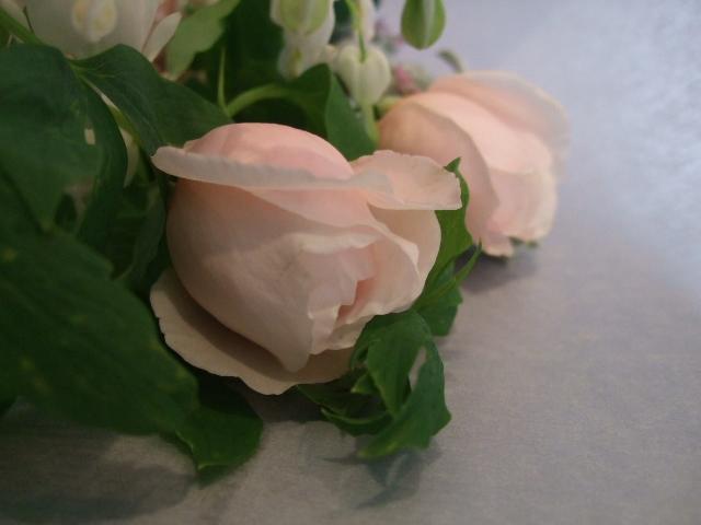 オークリーフ花の教室(季節のバラを使って・・・)_f0049672_1848574.jpg