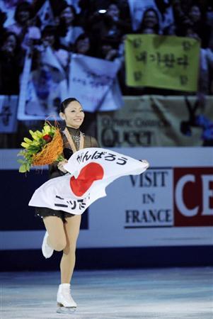 滑れる幸せ…逆転女王の美姫「日本のために、多くの笑顔を」_b0064113_1353176.jpg