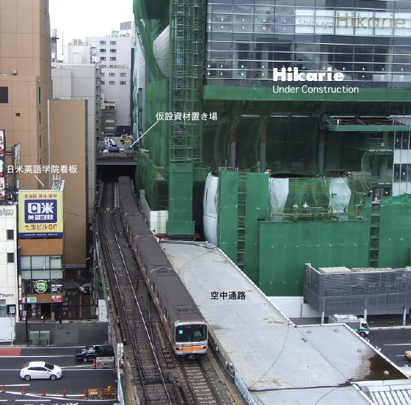 銀座線はどこで地下に潜るか。渋谷現地レポ2011.05_c0070938_19224131.jpg