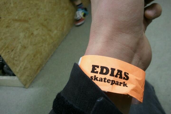 Edias skate parkに行ってみた。_e0173533_18193286.jpg