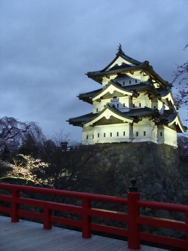 青森県 弘前城の桜_a0195373_058572.jpg