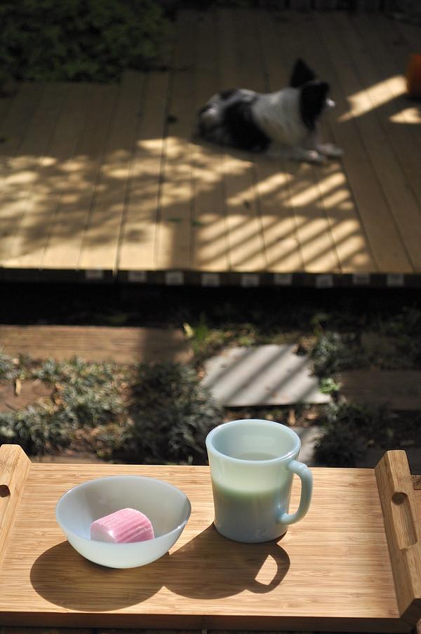 ファイヤーキングで スアマと牛乳のおやつ。。。_b0138882_14502198.jpg