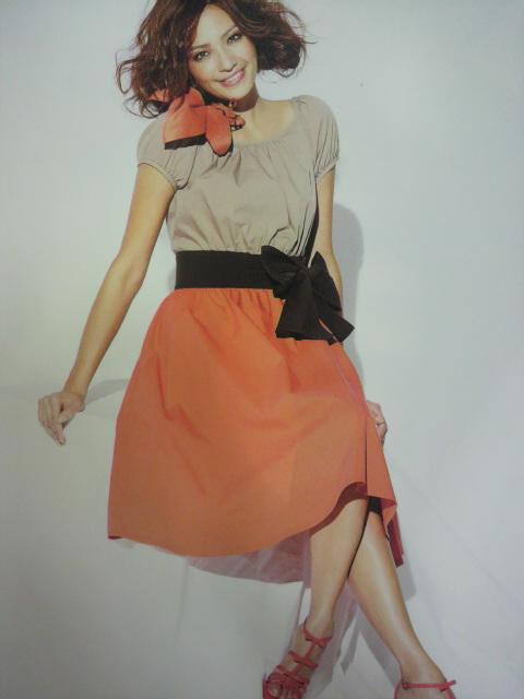 color block dress  d(>_< )_f0237698_2011848.jpg