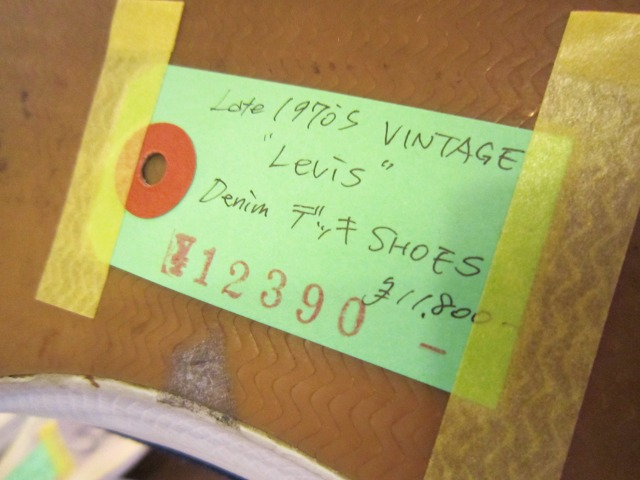 Levisのデニムデッキシューズ & Deadのホワイトレザーシューズ_a0182112_19413772.jpg