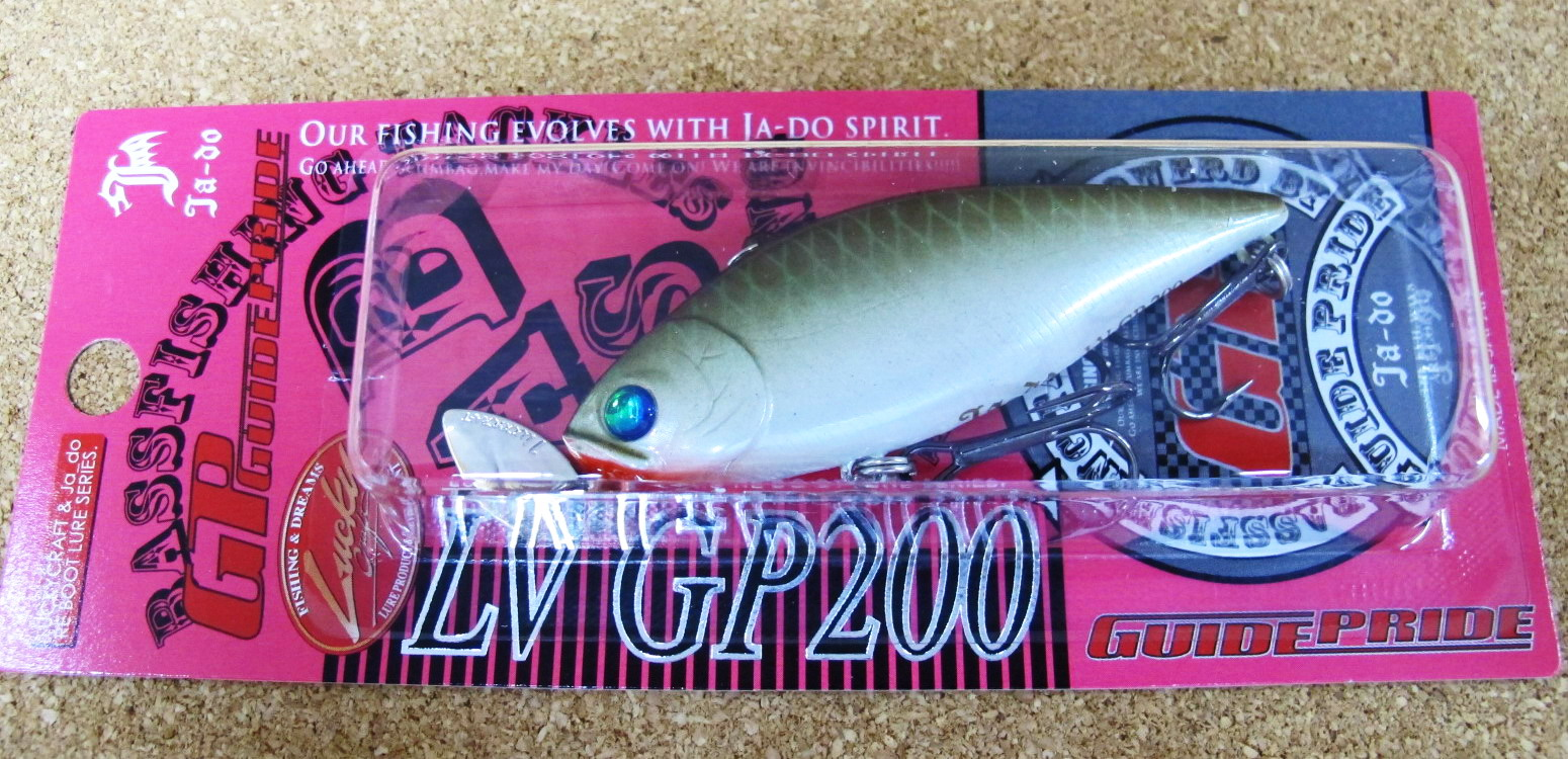 邪道+ラッキークラフト コラボ LV GP200 _a0153216_23455112.jpg