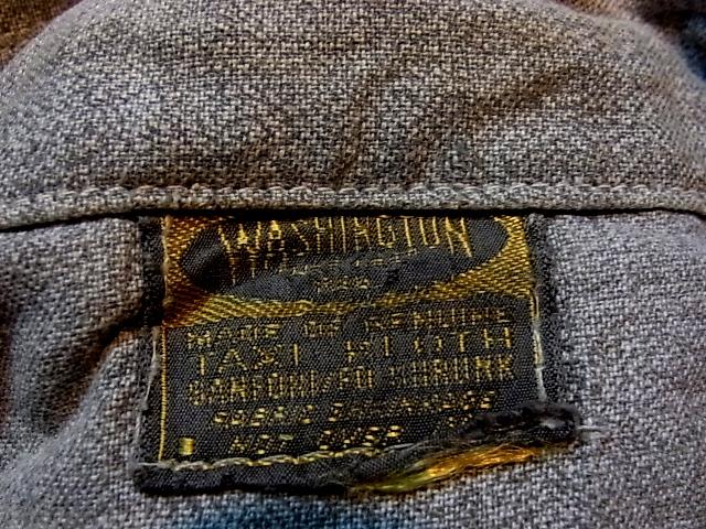 5/4(水)入荷! 40\'S Washington ブラックシャンブレーシャツ!_c0144020_2083376.jpg