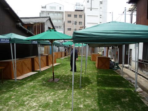 【5月3日(火・祝)】倉敷路地市庭準備…。_c0221349_1844376.jpg