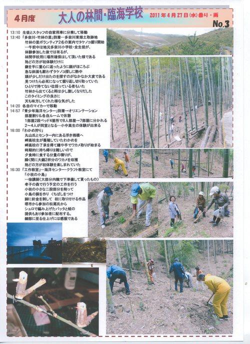 2011年4月度「大人の林間・臨海学校」第1日目_c0108460_2321937.jpg