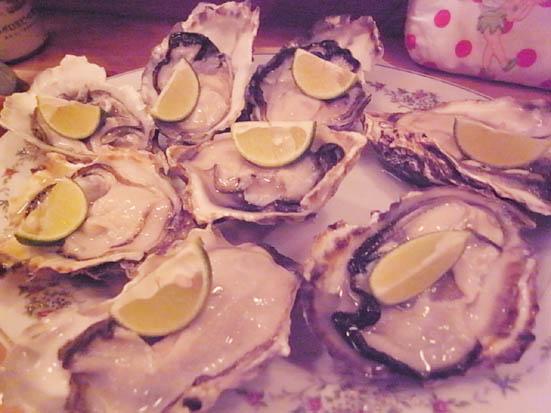 七尾の牡蠣をたっくさん食べました♪「廣田」@大井町_b0051666_122136100.jpg