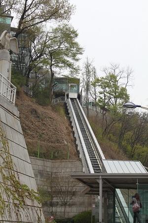 韓国旅行2011.4:サムギョプサルとNソウルタワー_b0189489_10102269.jpg
