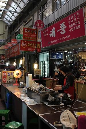 韓国旅行2011.4:広蔵市場②_b0189489_115411.jpg