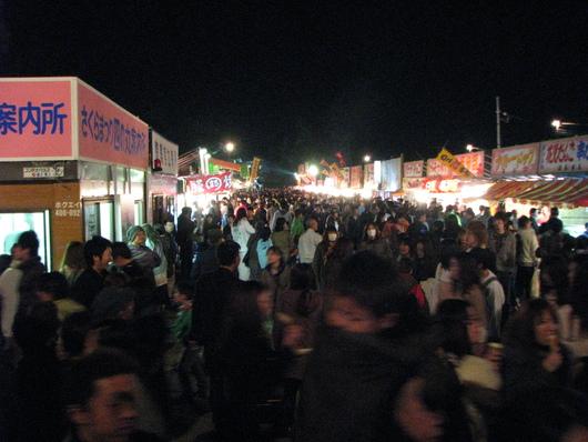 ◆夜桜◆_c0078202_1115317.jpg