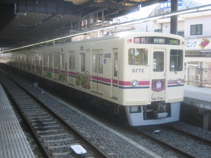 2ヶ月前の京王電鉄6000系最終運行_e0120143_2312425.jpg