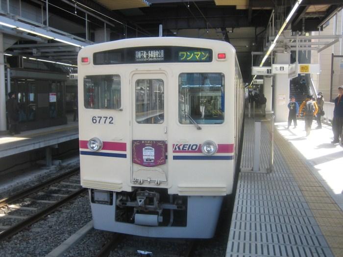 2ヶ月前の京王電鉄6000系最終運行_e0120143_23143219.jpg
