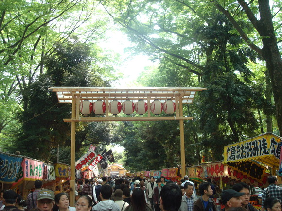 くらやみ祭り(大國魂神社例大祭)/Annual festival of Okuni-tama Jinja (Shinto shrine)_a0186568_17422242.jpg