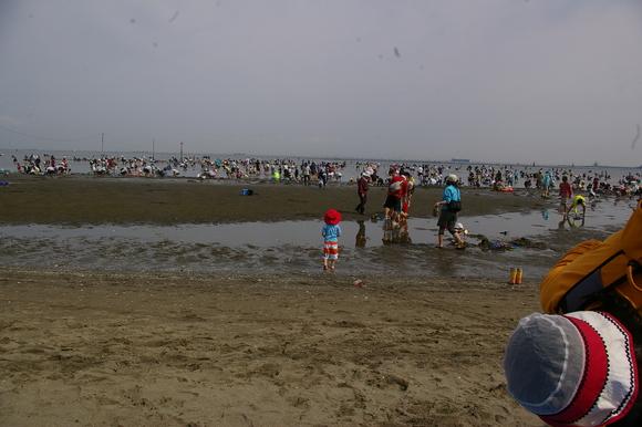 潮干狩りPart 1/shellfish gathering on a beach, part1_a0186568_23585726.jpg