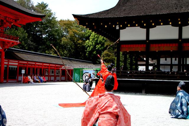 下鴨神社 武射神事_e0048413_20545234.jpg