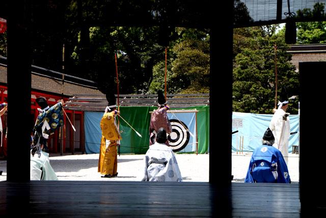 下鴨神社 武射神事_e0048413_20554059.jpg