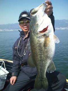 横井さん 4月14日 南湖 60 やった!!_a0153216_17342282.jpg