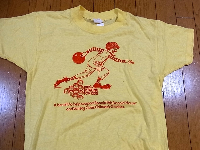 5/7(土)入荷商品!マクドナルドTシャツ!_c0144020_21491961.jpg