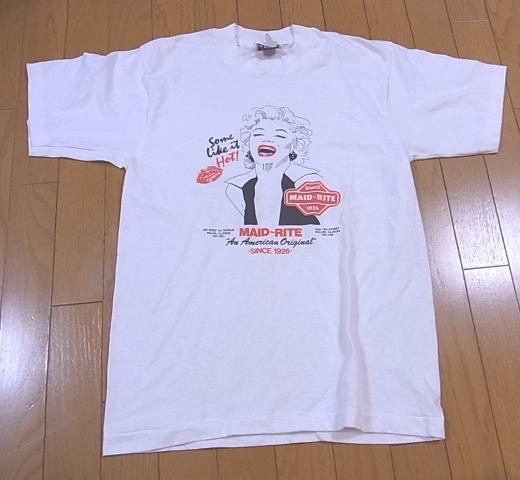 5/7(土)入荷商品!80-90'S マリリン・モンローTシャツ_c0144020_21511856.jpg