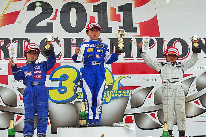 ジュニアカートFes『キッズカートクラス』表彰式&レース【2011.5.5】_c0224820_17285973.jpg