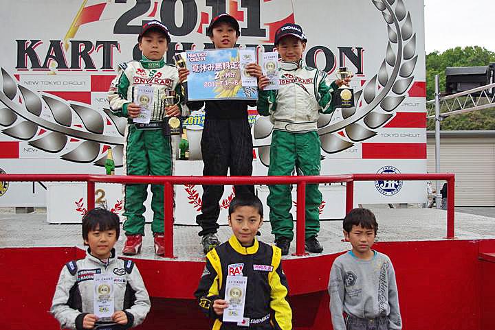 ジュニアカートFes『ジュニアカデット』表彰式&レース【2011.5.5】_c0224820_18103520.jpg