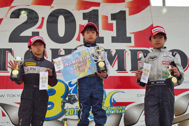 ジュニアカートFes『Sクラス』表彰式&レース【2011.5.5】_c0224820_1819247.jpg