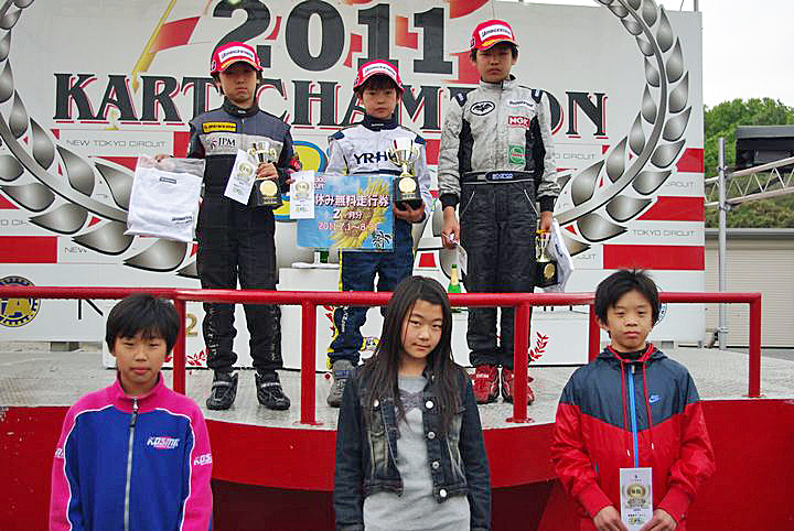 ジュニアカートFes『Sクラス』表彰式&レース【2011.5.5】_c0224820_1819355.jpg