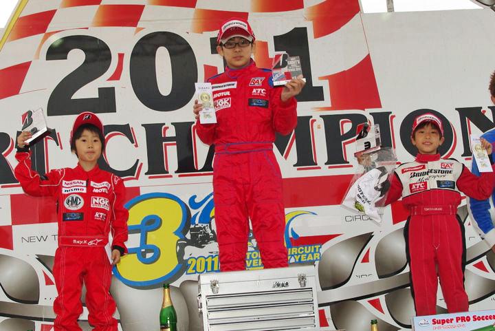 ジュニアカートFes『BSシリーズ』表彰式&レース【2011.5.5】_c0224820_18394138.jpg